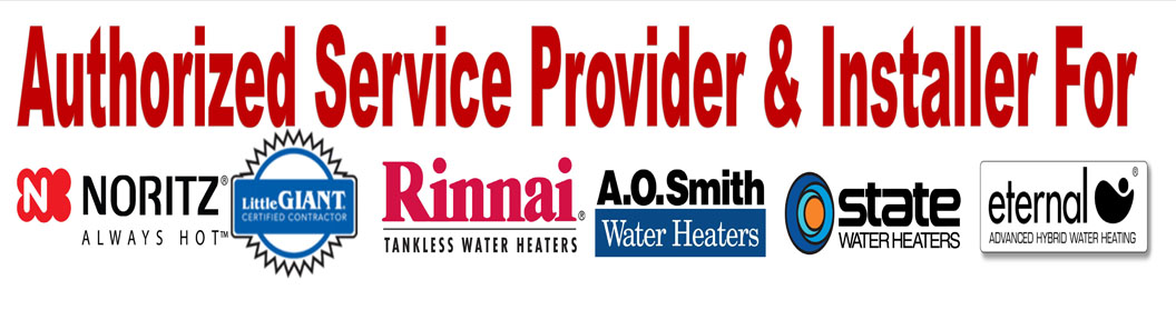 Tankless Water Heater Authorized Service Provider